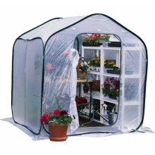 Popup greenhouse http://www.greenhousecatalog.com/category/mini-greenhouses-and-season-extenders