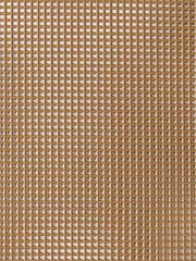 Brown plastic mesh canvas
