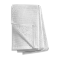Bistro Towels from Bed Bath and Beyond  tightly woven - not Barmop towels that have loops bird toes can get caught in